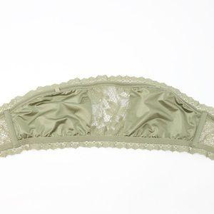 Victoria's Secret Intimates & Sleepwear - NWT Victoria's Secret Lace Bandeau Green Bralette